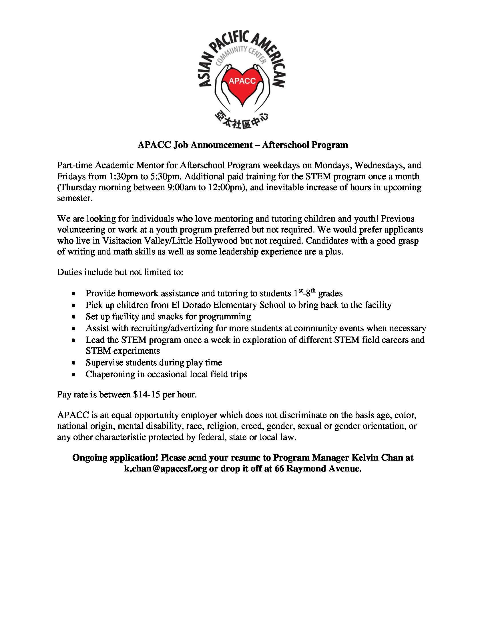 apacc-job-announcement – APACC